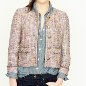 J CREW Confetti Tweed Jacket Blazer 2